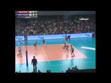 Wilfredo Leon in Russian League 2014/15 Finals