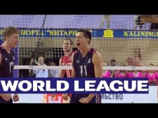 Russia - USA (Highlights, 1st match)