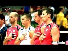 Volleyball in Slow Motion