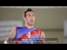 Interview with Serbian national team players