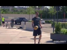 Volleyball trick shots (4th movie)
