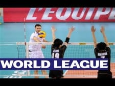 Attack from 5m by Antonin Rouzier (France - Japan)