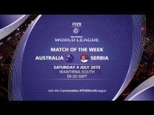 Australia - Serbia (full match)