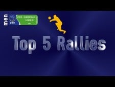 Long rally actions (European League, 1st round)
