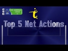 TOP5 actions of European League 1st/2nd week