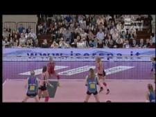 Katarzyna Skorupa and Lauren Gibbemeyer great action