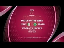 Italy - Brazil (full match)