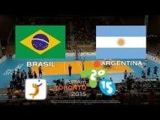 Brazil - Argentina (full match)