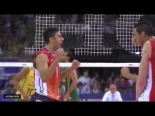 Taylor Sander in match USA - Brazil