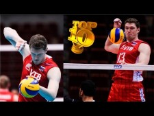 TOP10 Spikes: Dmitriy Muserskiy in World Championships 2014