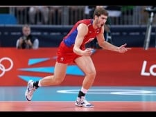 TOP10 Spikes: Maxim Mikhaylov in The Olympics 2012