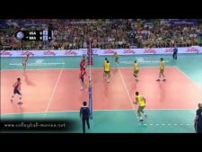USA - Brazil (Highlights, SET1)