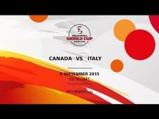 Canada - Italy (full match)