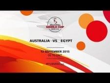 Australia - Egypt (full match)