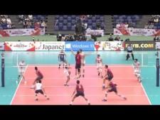 Simone Gianelli one-hand set (USA - Italy)