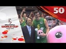 Thomas Edgar 50 points in match Australia-Egypt (2nd movie)