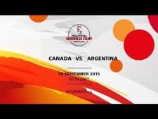 Canada - Argentina (full match)