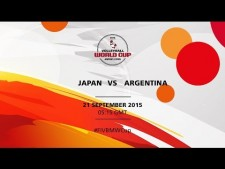 Japan - Argentina (full match)