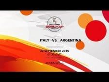 Italy - Argentina (full match)