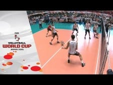 Micah Christenson great action (USA - Poland)