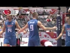 Italy actions in match Italy - Poland