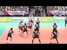 Bartosz Kurek 2nd meter spike (Japan - Poland)