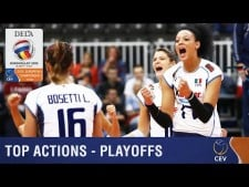 Best actions play-offs in EuroVolley 2015