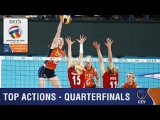 Best actions quarterfinals in EuroVolley 2015