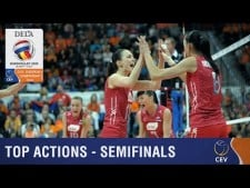 Best actions semi-finals in EuroVolley 2015