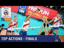 Best actions (Final matches) in EuroVolley 2015