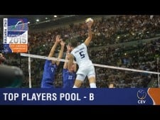Best players of Group B in EuroVolley 2015
