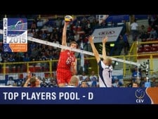 Best players of Group D in EuroVolley 2015