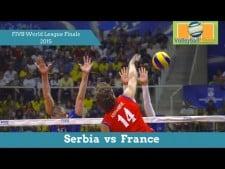 Serbia - France (Highlights, 3rd movie)