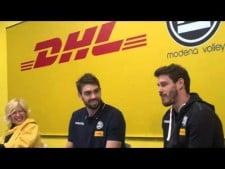 Lucas Saatkamp presentation in Modena Volley