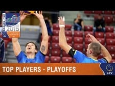 Top Players Playoff round in EuroVolley 2015
