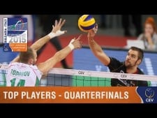 Best players quarterfinals in EuroVolley 2015
