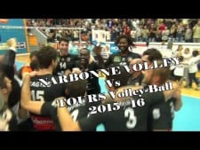 Narbonne Volley - Tours VB (Highlights)