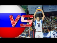 Simone Giannelli in match Italy - Russia