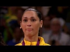 Jaqueline Carvalho in The Olympics 2012 (3rd movie)