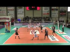 Taylor Averill in match Padova - Macerata