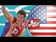 Dmitriy Muserskiy in match USA - Russia