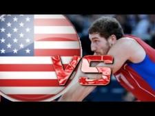 Maxim Mikhaylov  in match USA - Russia