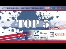 TOP5 actions in match Milano - Monza