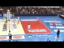 Fillipo Lanza spike (Trentino Volley - Modena Volley)