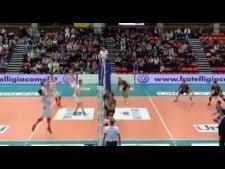 Miljković and Juantorena amazing action