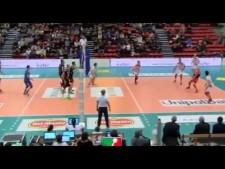 Micah Christenson 3 aces in a row (Milano - Macerata)