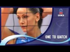 Natalia Goncharova in match Dinamo Moscow - Alba-Blaj