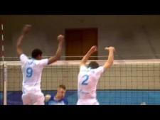 Aleksey Kuleshov huge block on Ivan Zaytsev