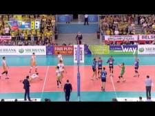 Skra Bełchatów - Knack Roeselare (Highlights)
