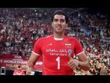 Shahram Mahmoudi in match Argentina - Iran